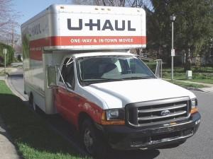 UHaul truck in Boise, ID