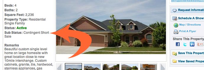 Where to find Contingent Short Sale